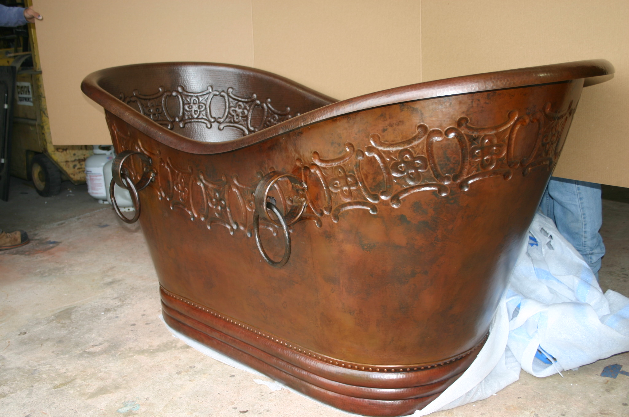 Copper and Brass Hand Made Bathtubs