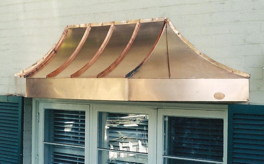 Copper Bay Window